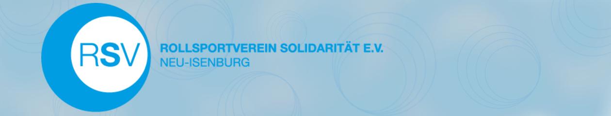 Rollsportverein Solidarität e.V. Neu-Isenburg
